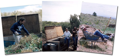 Composting in Colorado 1980s